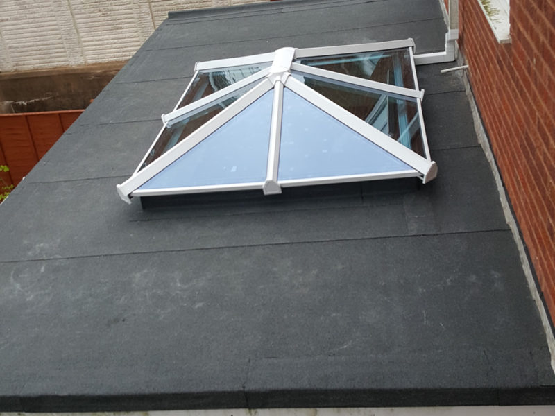 Conservatory Roofing with Felt