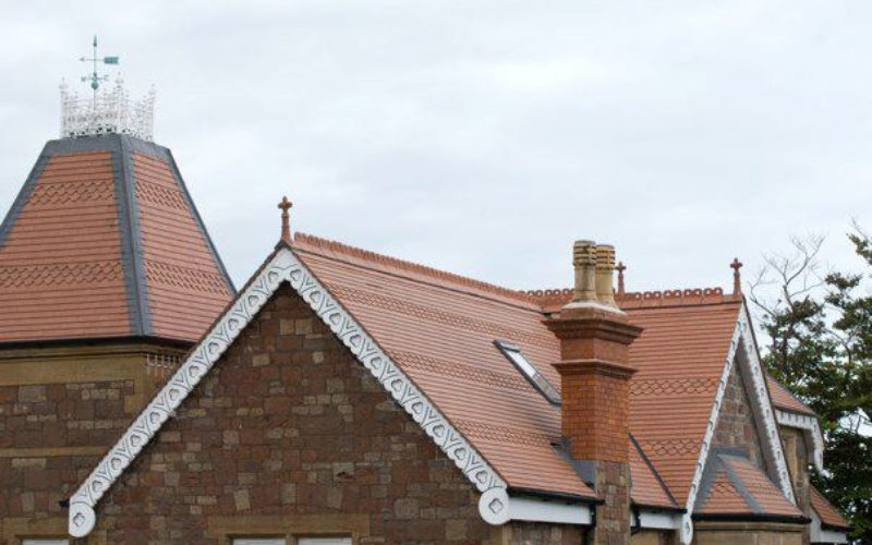 Tiled Roof View